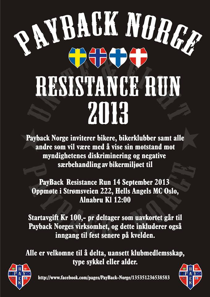 03. Payback Norge Resistance Run 14. september 2013 - 3