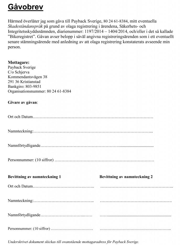 Microsoft Word - GåvobrevPayback.doc